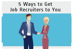 """5 Ways to Get the Attention of Job Recruiters!""  Part of Best of the Web: 5 Useful Job Search Tips"
