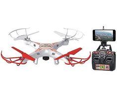 World Tech Toys 2.4Ghz Striker Spy Drone Video/Picture 4.5 Channel RC Quadcop...
