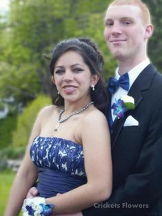 prom couple By Crickets Flowers Lexington, Ma 781-861-1030