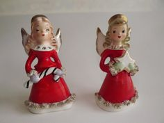 1950's Ucagco Christmas Angel Bells