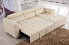 Sofa Cum Bed für Wohnzimmer Luxury L Shape Multi Purpose Leather Sofa Cum Bed With Adjustable Sofa Come Bed, Sofa Bed Set, Sofa Cumbed Design, L Shaped Sofa Bed, L Shaped Sofa Designs, Attic Bed, Bedroom Bed Design, Bunk Beds With Stairs, Sofa Home