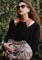 Hailee Steinfeld in Miu Miu, shot by Bruce Weber