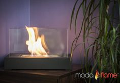 Elegant And Sophisticated Table-Top Indoor/Outdoor Bio-Ethanol Fireplace - The Fire Pits Store  - 1