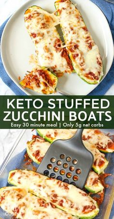 Low carbohydrate diet 751678994041120655 - Our Stuffed Keto Zucchini Boats are quick, easy and delicious! We'll show you how to make Italian low carb flavor or pizza zucchini boats with one recipe! Source by No Carb Recipes, Beef Recipes, Cooking Recipes, Recipies, Vegetarian Cooking, Vegetarian Recipes, Healthy Recipes, Lunch Recipes, Healthy Meals