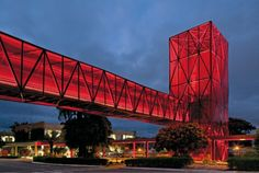 truss bridge building. anyone know where this is?