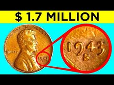 Valuable Pennies, Rare Pennies, Valuable Coins, Coin Collection Value, Silver Coins Worth, 1943 Penny, Rare Coin Values, Penny Values, Old Coins Value