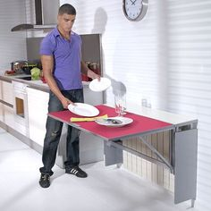 #cocinas Mesa de cocina modelo radiador abierta
