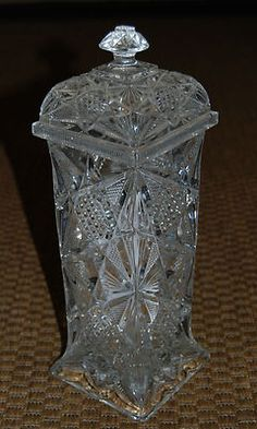 Victorian Glass Straw Holder - for some reason I feel like I need this.