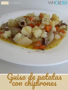 Whole30, Patatas Guisadas, Risotto, Potato Salad, Ethnic Recipes, Blog, Crock Pot, Vegetables, Plate
