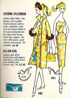 Barbie - Evening Splendor #961 & Golden Girl #911