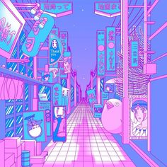 Aris Roth is a self-taught digital artist, based in Cologne, Germany. Aris Roth enjoys anime aesthetics and Japanese Dreamscapes. Aesthetic Pastel Wallpaper, Aesthetic Backgrounds, Aesthetic Wallpapers, Purple Aesthetic, Aesthetic Art, Aesthetic Anime, Korean Aesthetic, Animes Wallpapers, Cute Wallpapers