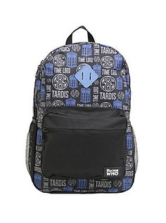 Doctor Who Time Lord TARDIS Backpack,