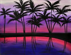 Paradise Palms - Sarasota, FL Painting Class - Painting with a Twist