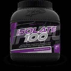 ISOLATE 100: 100% izolatu białka serwatki CFM 0% tłuszczu i laktozy   Maksymalna przyswajalność 0 g tłuszczu i 0 g laktozy 100% izolatu białka serwatki CFM