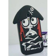 3D Frau Marc Pirat Silikon iPhone 5/4/4S  Case Cover Schutzhülle