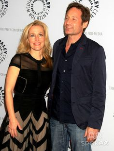 Paley Center for Media Media presents ''The Truth is Here'' with David Duchovny and Gillian Anderson of ''X-Files''
