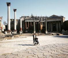 Set Antica Roma #Cinecittà #Roma @lesognatrici