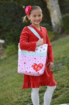 HeatnBond Valentine Tote Bag