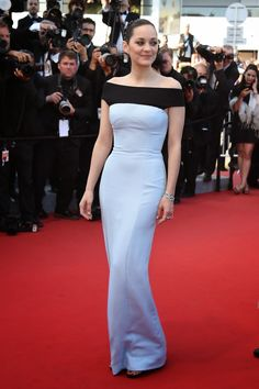 """Marion Cotillard attends the """"Little Prince"""" (""""Le Petit Prince"""") Premiere during the annual Cannes Film Festival on May 2015 in Cannes, France. Dress by Dior Haute Couture. Marion Cotillard, Toni Garrn, Dior Haute Couture, Couture Fashion, Celebrity Red Carpet, Celebrity Style, Celebrity Dresses, Le Petit Prince Film, Cannes Film Festival 2015"""