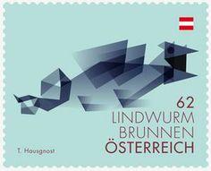 Briefmarke, Lindwurmbrunnen