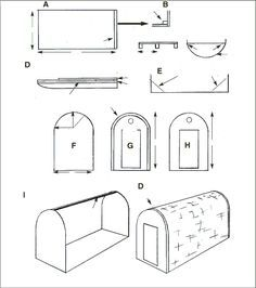 Image result for free ice fish house plans