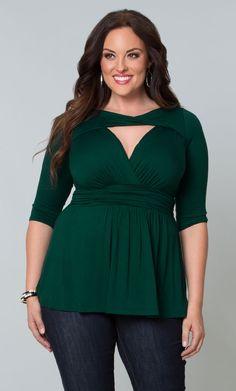 Plus Size Tops | Curvy Blouses | Kiyonna Clothing