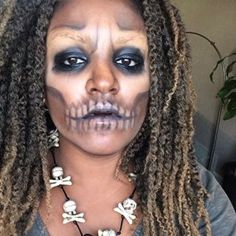 Voodoo Priestess | Community Post: 32 Jaw-Dropping Halloween Makeup Ideas                                                                                                                                                     More