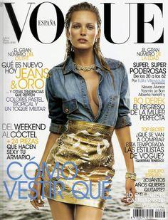 Vogue España  March '12 | Edita Vilkeviciute by Greg Kadel