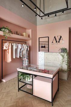 Showroom Interior Design, Boutique Interior Design, Boutique Decor, Clothing Store Interior, Clothing Store Design, Bar Design, Nail Designer, Retail Store Design, Small Store Design