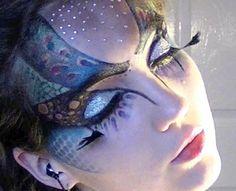 makeup for mother earth costume | halloween ideas | Pinterest ...