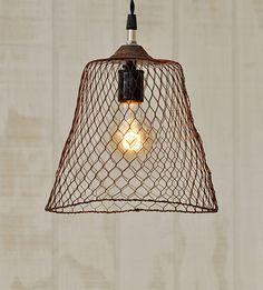 Industriële lamp in de hal | Interieur inrichting