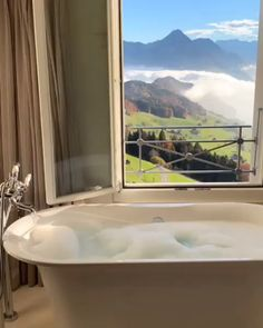 The enchanting views of the vast Lake Lucerne and Swiss Alps from Villa Honegg. Video by Click the image to try our free home design app. Beautiful Places To Travel, Wonderful Places, Peaceful Places, The Places Youll Go, Places To Go, Villa Honegg, Unique House Design, Destination Voyage, Travel Videos