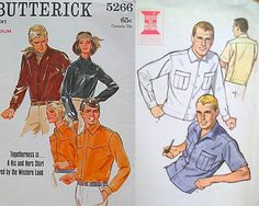 Retro Menswear Patterns