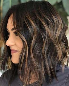 Best Of Textured Balayage Bob Haircuts For Women - See Here And Apply Our Best B. - Best Of Textured Balayage Bob Haircuts For Women – See Here And Apply Our Best Balayage Hair Colo - Medium Length Hairstyles, Bob Haircuts For Women, Curly Haircuts, Short Hairstyles For Women, Wavey Bob Hairstyles, Bob Hairstyles How To Style, Hairstyles For Fine Thin Hair, Bob Hairstyles Brunette, Plus Size Hairstyles