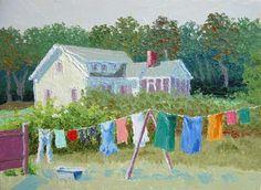 """""""Wash Day"""" · Thaw Malin Art"""