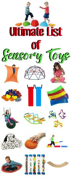 Check out these sensory toys that are perfect for kids with sensory processing disorder or autism. Great ideas as well as stocking stuffers for the the kids in your life! They all have occupational therapy benefits! Autistic Toddler, Activities For Autistic Children, Children With Autism, Toddler Activities, Parenting Toddlers, Parenting Advice, Sensory Activities For Autism, Proprioceptive Activities, Occupational Therapy
