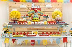Festa do Snoopy | 1 aninho do Afonso Henrique                                                                                                                                                                                 Mais