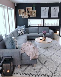 Future Home Interior .Future Home Interior Living Room Decor Colors, Living Room Grey, Decor Room, Home Living Room, Living Room Designs, Inspire Me Home Decor, Luxury Furniture, Antique Furniture, Furniture Dolly