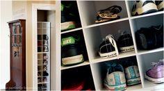 Great shoe storage