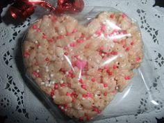 Rosie's Country Baking: Valentine Rice Krispy Treats
