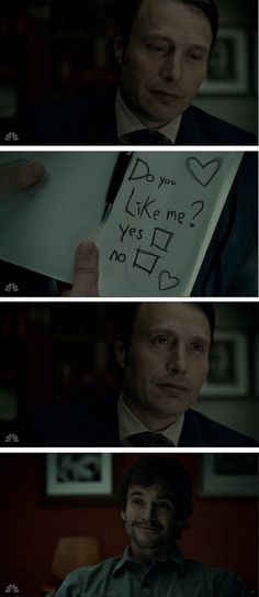Hannibal - C'est impossible que quelque chose comme ça arrive mais ça reste mignon x)