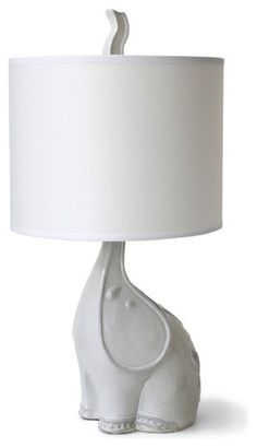 Jonathan Adler Utopia Elephant Lamp - contemporary - table lamps - - by Jonathan Adler