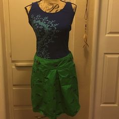 Green Skirt from Libertine for Target Cute and fun green skirt with whales and skulls from the Libertine for Target line. Skirt is in perfect condition with no stains or tears. There is a zipper on the back and two pockets in the front  (shirt not included with skirt but is in another listing) Libertine for Target Skirts