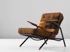Hans Wegner 'GE215' Sawbuck Lounge Chair with Original Upholstery 2