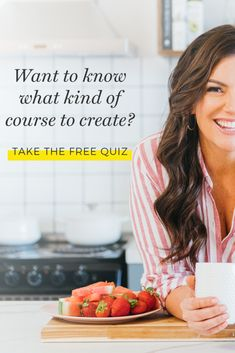 So you want to know what kind of course to create?  There are 5 different types and depending on where you're at in your business some will be more suited to you than others.  Take this fun and free quiz to figure out which type of course is right for you and your biz.