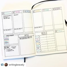 Regardez cette photo Instagram de @showmeyourplanner • 760 mentions J'aime