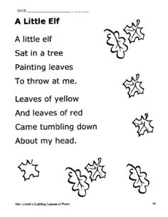 41 pages of FREE printable poems!!!