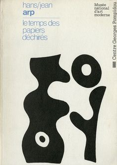 I'm not sure what to call this style of art, but I love it. Jean Arp, Buch Design, Design Art, Dada Artists, Grafik Design, Graphic Design Typography, Book Cover Design, Art Inspo, Art Direction