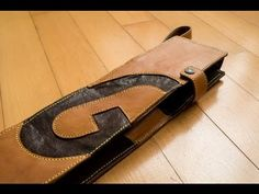 The making of Leather Drumstick Bag. - YouTube