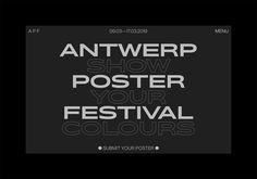 ssnn: Antwerp Poster